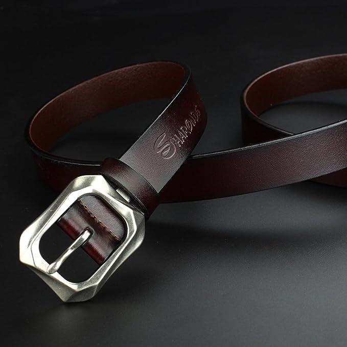 444397e8027f Ceintures de marque de luxe jeune accessoire de loisirs de taille moyenne  homme ceinture accessoires  Amazon.fr  Vêtements et accessoires