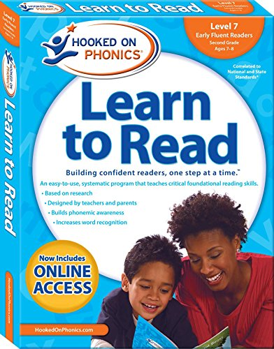 Hooked on Phonics Learn to Read - Level 7: Early Fluent Readers (Second Grade | Ages 7-8) (7) (Hooked On Phonics Readers)