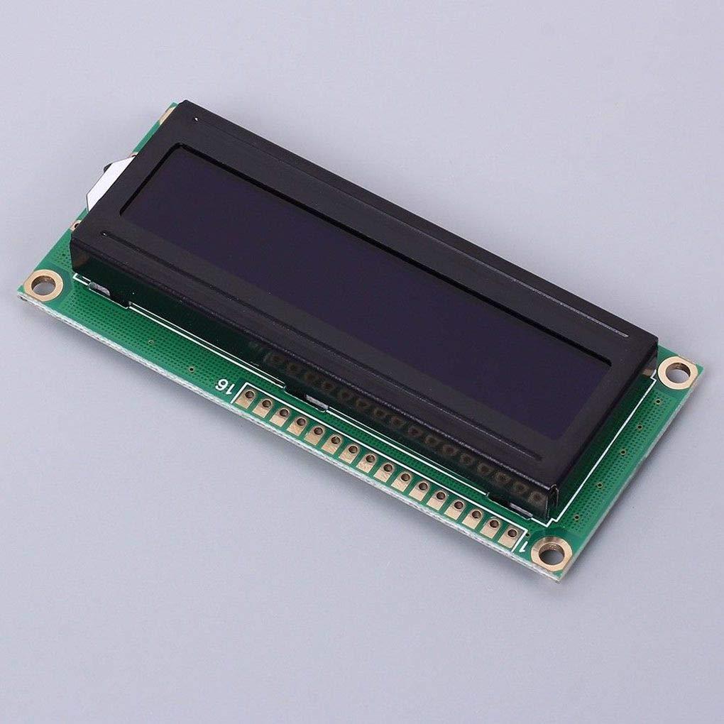 3.3V LCD1602A Red Character Dot Matrix LCD Display Module 16x2 Black