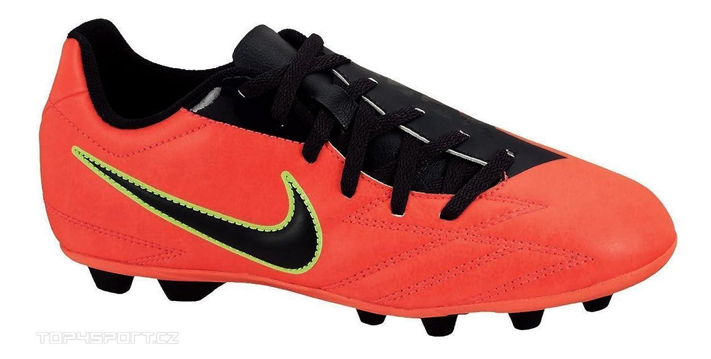 Amazon.com | Nike Kids Jr T90 Exacto IV FG-R Soccer Cleats - Red/Black (10)  | Soccer