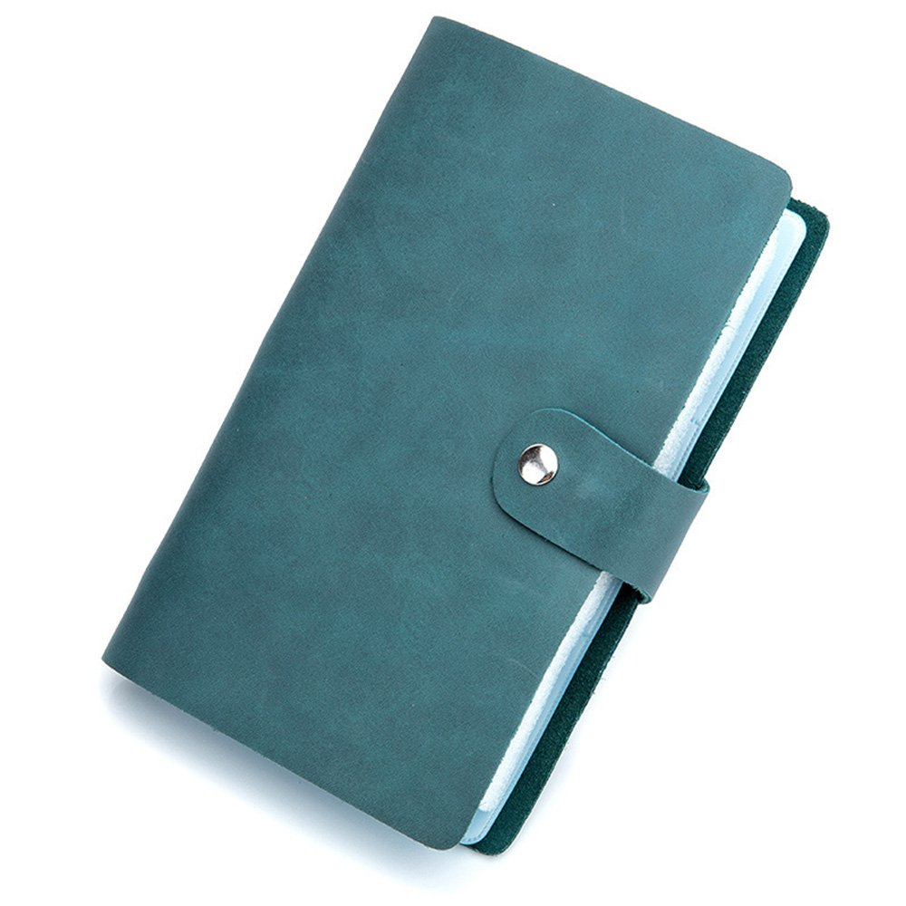 Aladin Leather Credit Card Holder Business ID Card Case Book Style 90 Cells Name Card Holder Book
