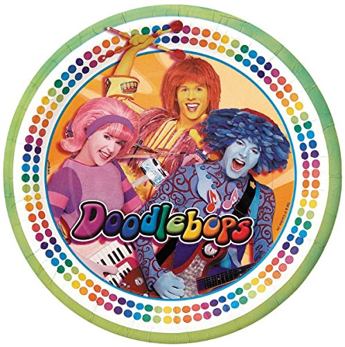 Doodlebops Small Paper Plates (8ct)