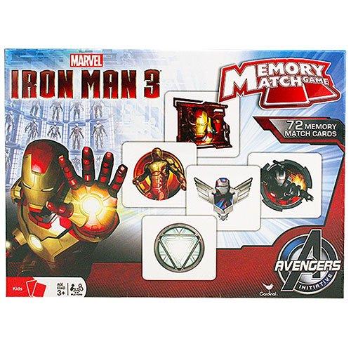 Iron Man Memory Match Game