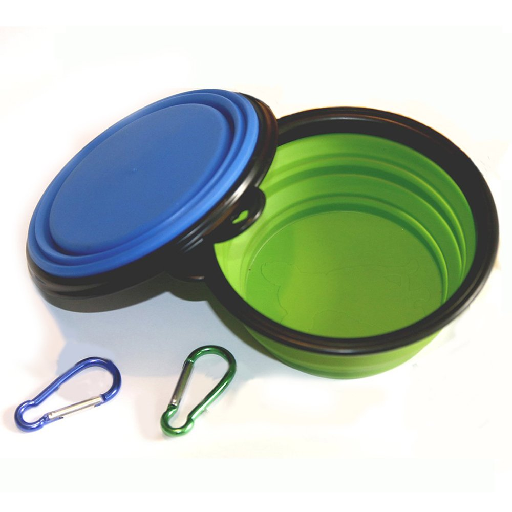 Comsun BPA-free Silicone Collapsible Food Bowl