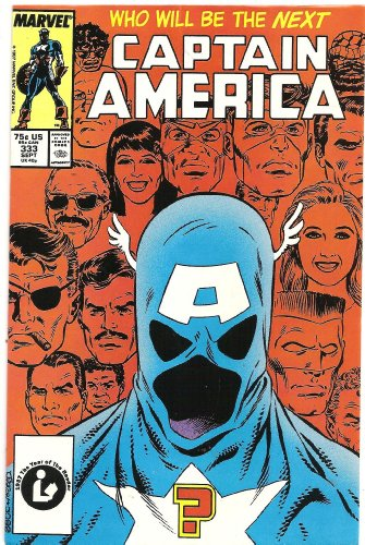 Captain America #333 (The Replacement)