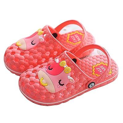 343c36f04bb840 Blubi Toddler Little Kid Cow Bathroom Pool Slides Cute Shower Slippers