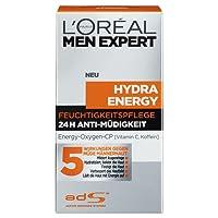 L'Oreal Men Expert Hydra Energy Feuchtigkeitspflege, 24H Anti-Müdigkeit, 50 ml