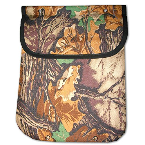 Heavy Duty Canvas Clothespin Bag Leaves