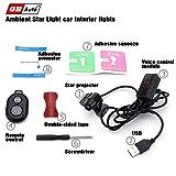 GBAuto USB Car interior lights LED decorative