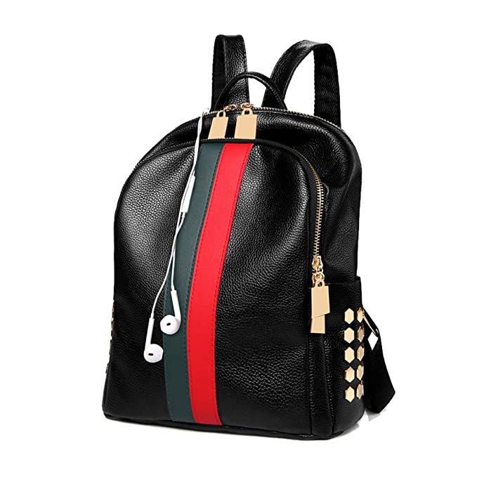 Image Unavailable. Image not available for. Color  Mini Backpack Purse  Alovhad Cute Daypack Leather Women Fashion ... df9d24eae6