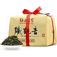 梅府茗家 乌龙茶 清香型 铁观音茶叶 散装 古法纸包400克