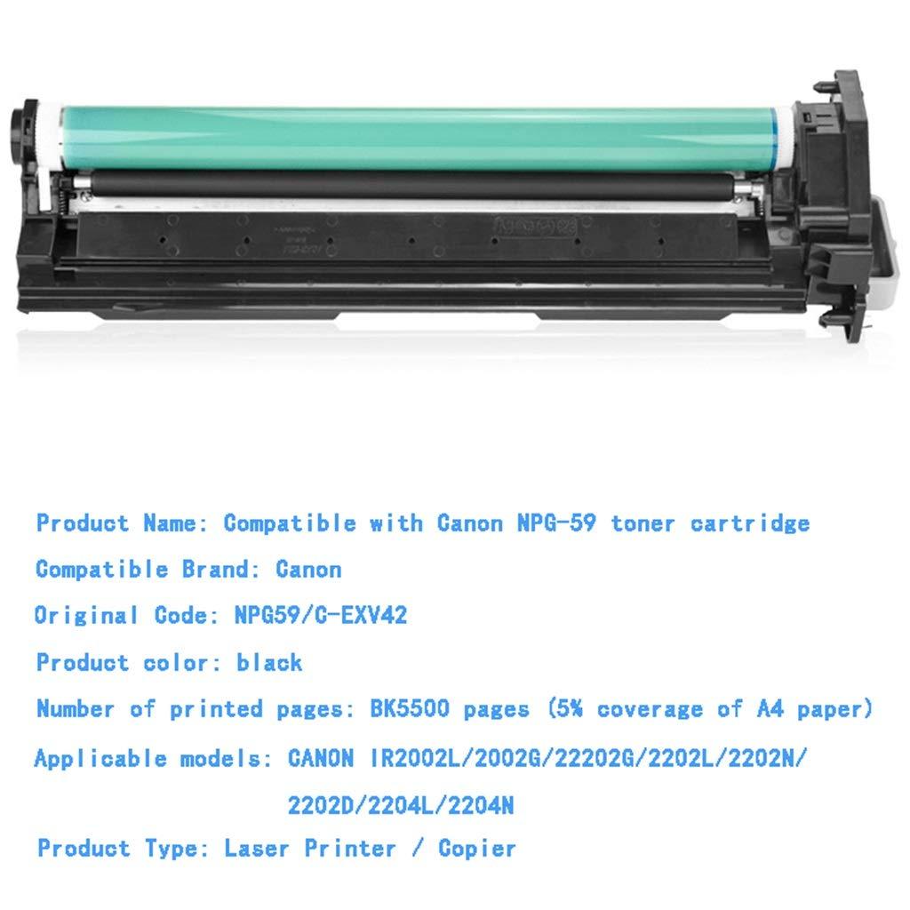 3D-Druck & Digitalisierung 3D-Drucker RSQGBSM Die Tonerkartusche Ist Geeignet FüR Canon Ir2002g Tonerkartusche Ir2204l 2202n Trommel-Satz 2202l Trommeleinheit Npg59 Trommelgestell Schwarz