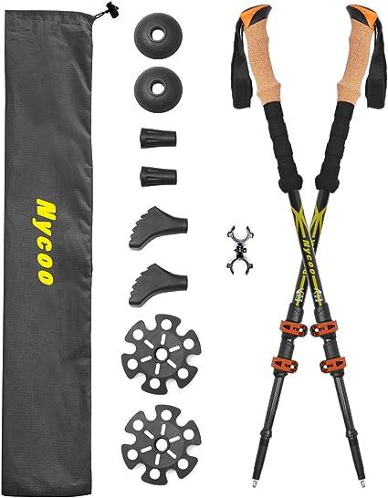 4 x Trekking pole basket for walking trekking ski poles sticks outdoor goods  HD