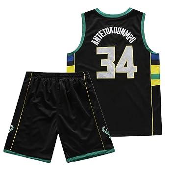 Rying Camisetas De Baloncesto, Antetokounmpo#34 Deportes De Verano ...