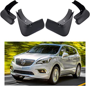 Full Set All Weather Weathertech No-Drill MudFlaps for Buick Enclave 2018-2019