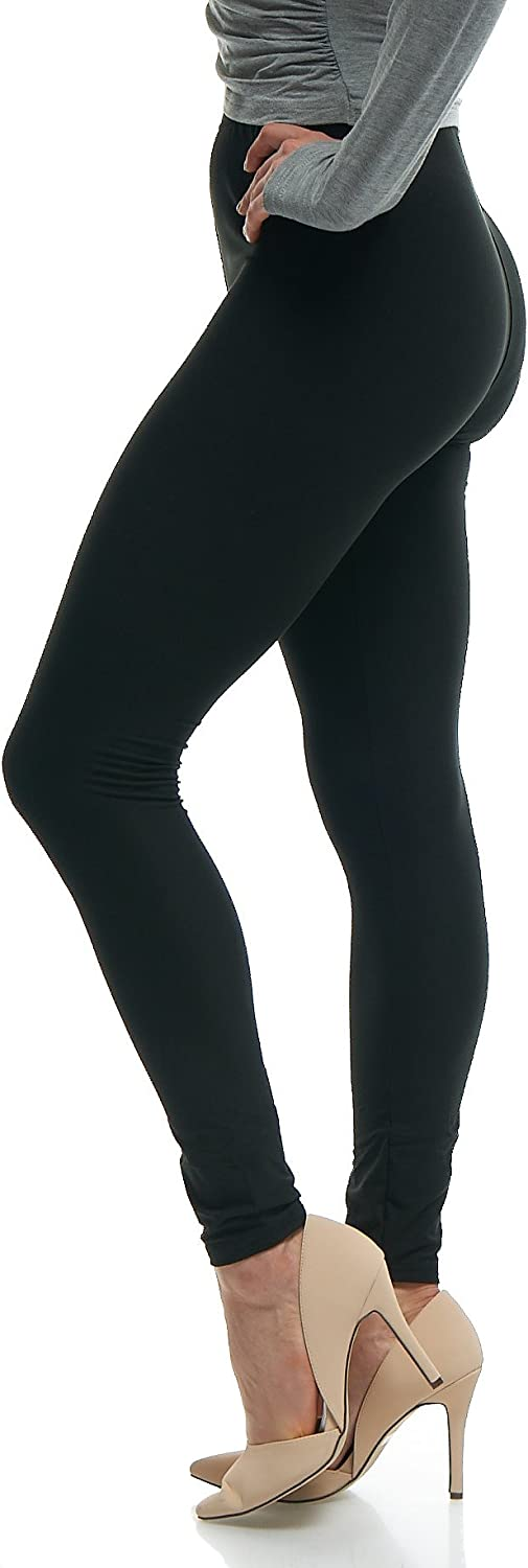 LMB Women's Ultra Soft Leggings Stretch