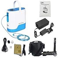 InLoveArts Concentrador de oxígeno ajustable portátil de 1-5
