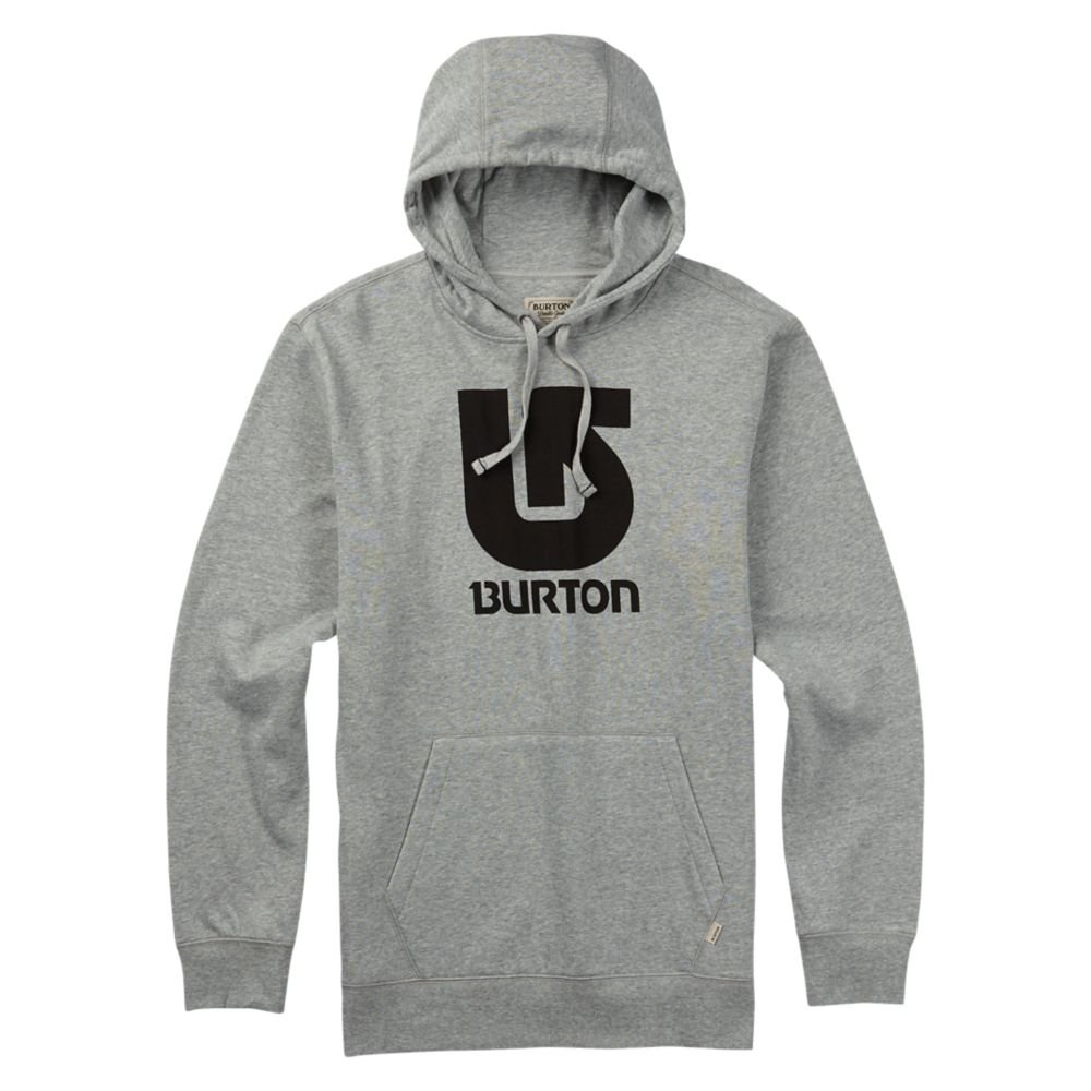 Burton Logo Vertical Pullover Hoodie Burton Snowboards 178871