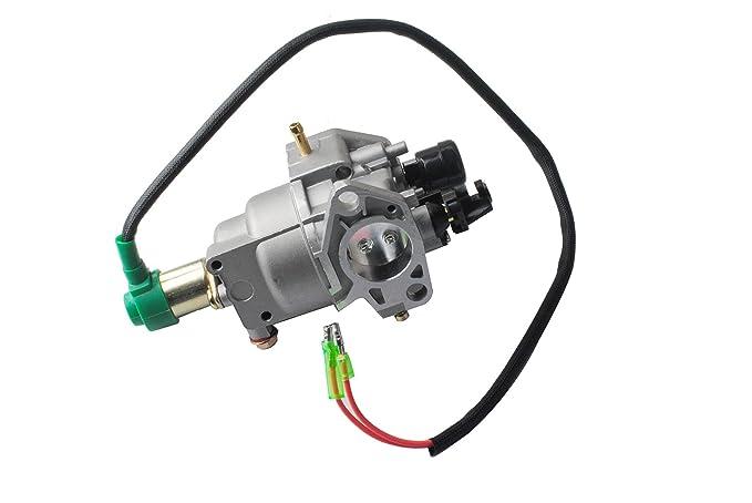 amazon com gx390 gx340 carburetor for 5kw 8kw generator fit honda rh amazon com