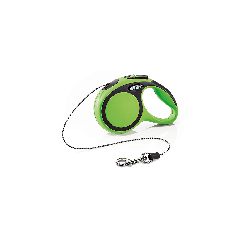 Flexi New Comfort Retractable Cord Lead X-Small 3 M Green