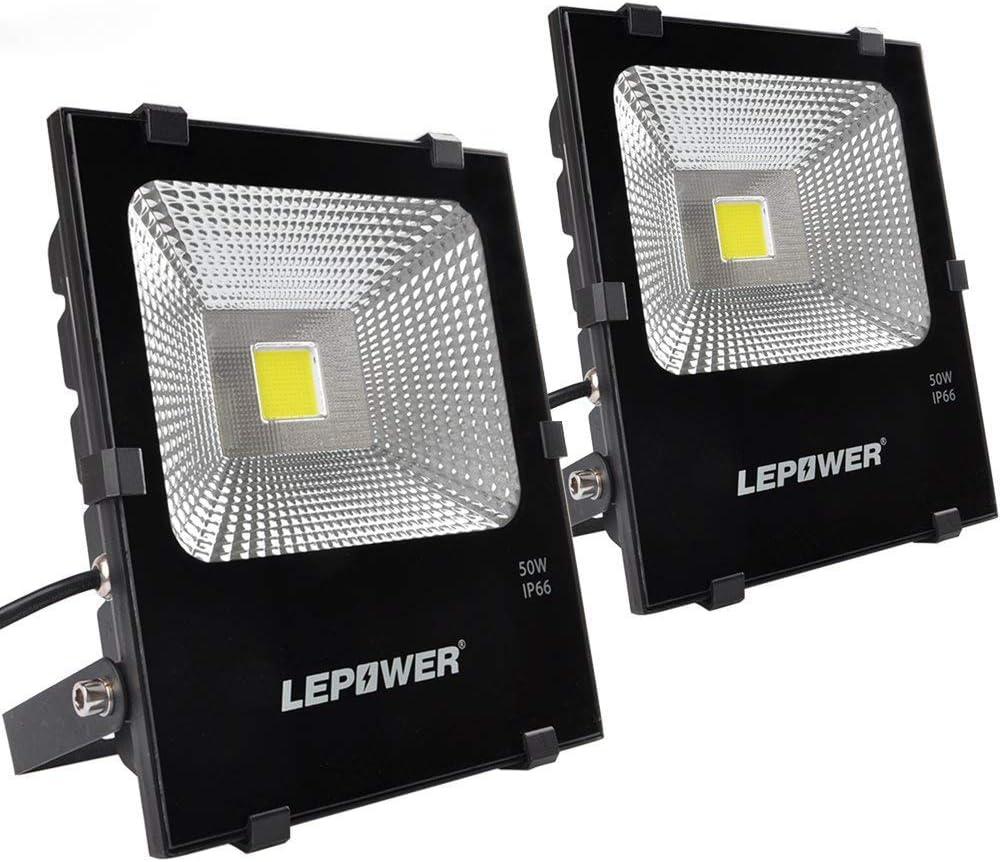 LEPOWER 50W LED Flood Light