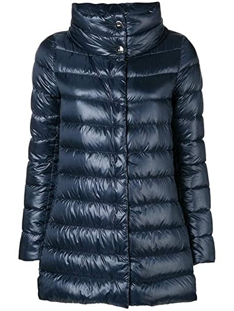 Herno Long Ultralight Down Jacket Royal Blue, Mujer, Talla 48.: Amazon.es: Ropa y accesorios