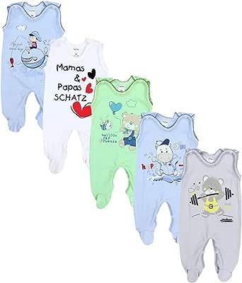 TupTam Peleles Estampados para Bebés, Paquete de 5 uds