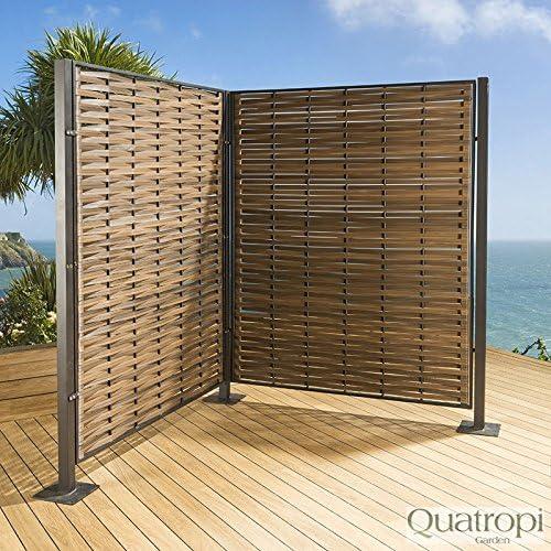 Avant Garde Biombo pantalla para jardín o patio, lujoso diseño de ...