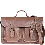 Scully 81st Aero Squadron Workbag (Antique Brown)
