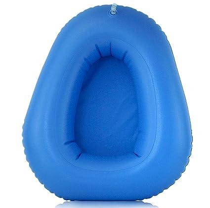 M & My hinchable sentada Sartenes de cama de úlceras de decúbito) de caderas de