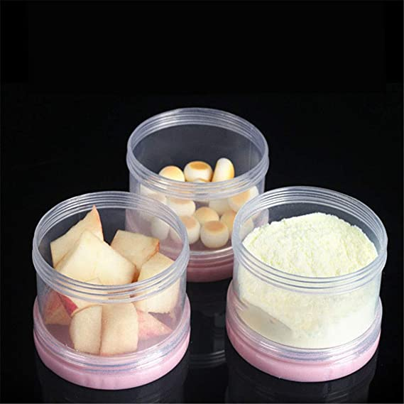 Zhongsufei Dispensador de Fórmula Apilable y Snack Containers Bule/Pink (Color : Rosado): Amazon.es: Hogar