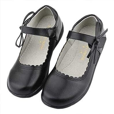 Girls Mary Jane Leather Uniform Dress