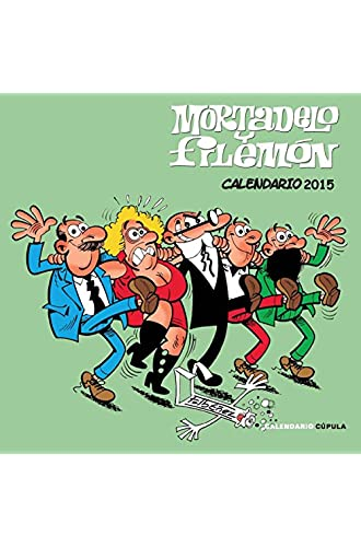 Calendario Mortadelo Y Filemón 2015