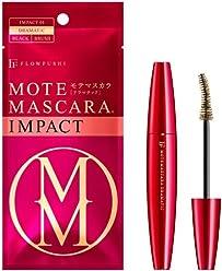 0c8eb51bd27 FlowFushi Mote Mascara Impact 01 Dramatic Black for Women, 0.2 Ounce