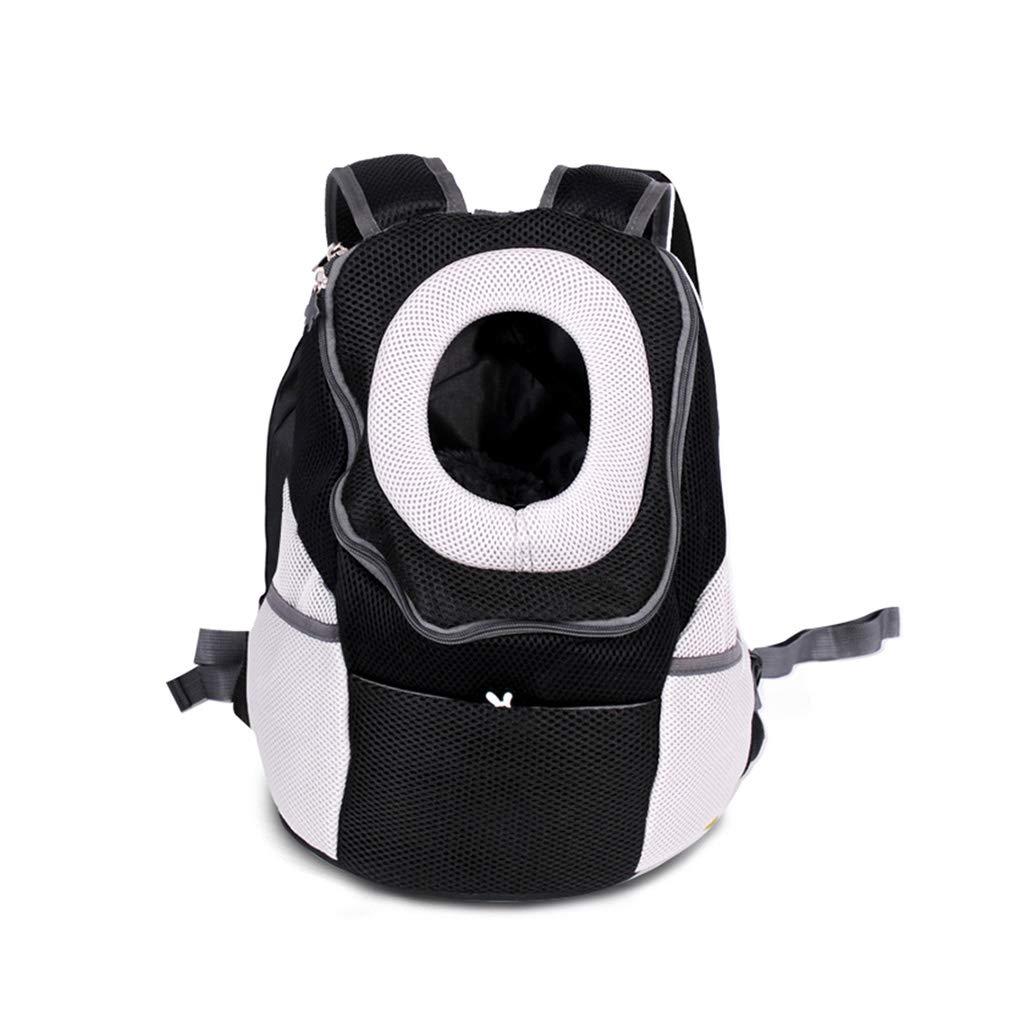 Black L Black L Backpacks Pet Bag Shoulder Bag Travel Space Bag With Bag Pet Carrying Bag Cat Dog Bag Black White Mesh Canvas Dew Bag Large Size Gift (color   Black, Size   L)