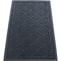 Extra-Large, Stylish Kitty Litter Mat Prevents Messes, Protects Your Floors & Looks Great Doing It What good is a cat litter mat if it's too small to catch the scatter? Say goodbye to flimsy, flat mats that do nothing at all to protect your floor...