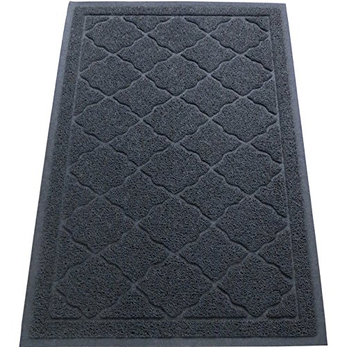 Easyology Cat Litter Mat, XL - Slate Gray