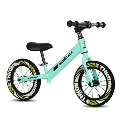6839ee959f9 Green Balance Bike for Kids - 2, 3, 4,5, 6 Year Olds, No Pedal Stride  Walking Bicycle, Light Weight Carbon Steel Frame: Amazon.ca: Home & Kitchen