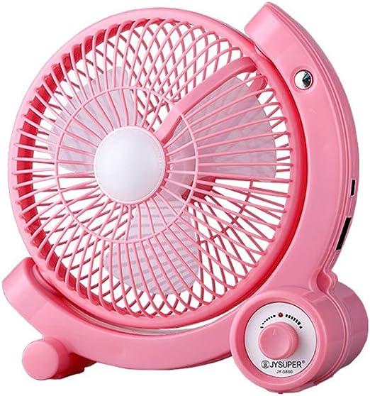 Ventiladores de Sobremesa Mini ventilador recargable de la batería ...