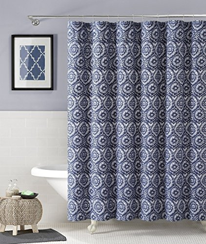 Floral Geometric Cotton Fabric Curtain product image