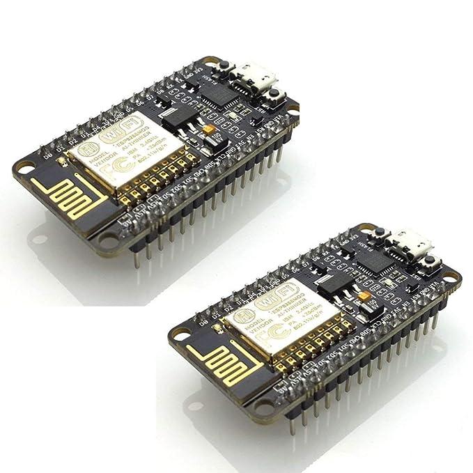 15 opinioni per Hiletgo 2pcs nuova versione CP2102 esp-12e internet WiFi ESP8266 Nodemcu Lua
