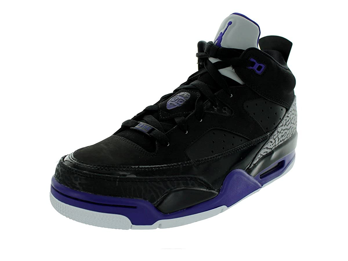 buy popular 52b52 05c10 Nike Men s - Jordan Son Of Mars Low  RARE  Limited Edition - Black Grape  Ice White - UK 8.5  Amazon.co.uk  Shoes   Bags