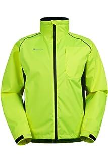 Mountain Warehouse Adrenaline Mens High Visibility Jacket - Breathable Mens  Coat 3224be094