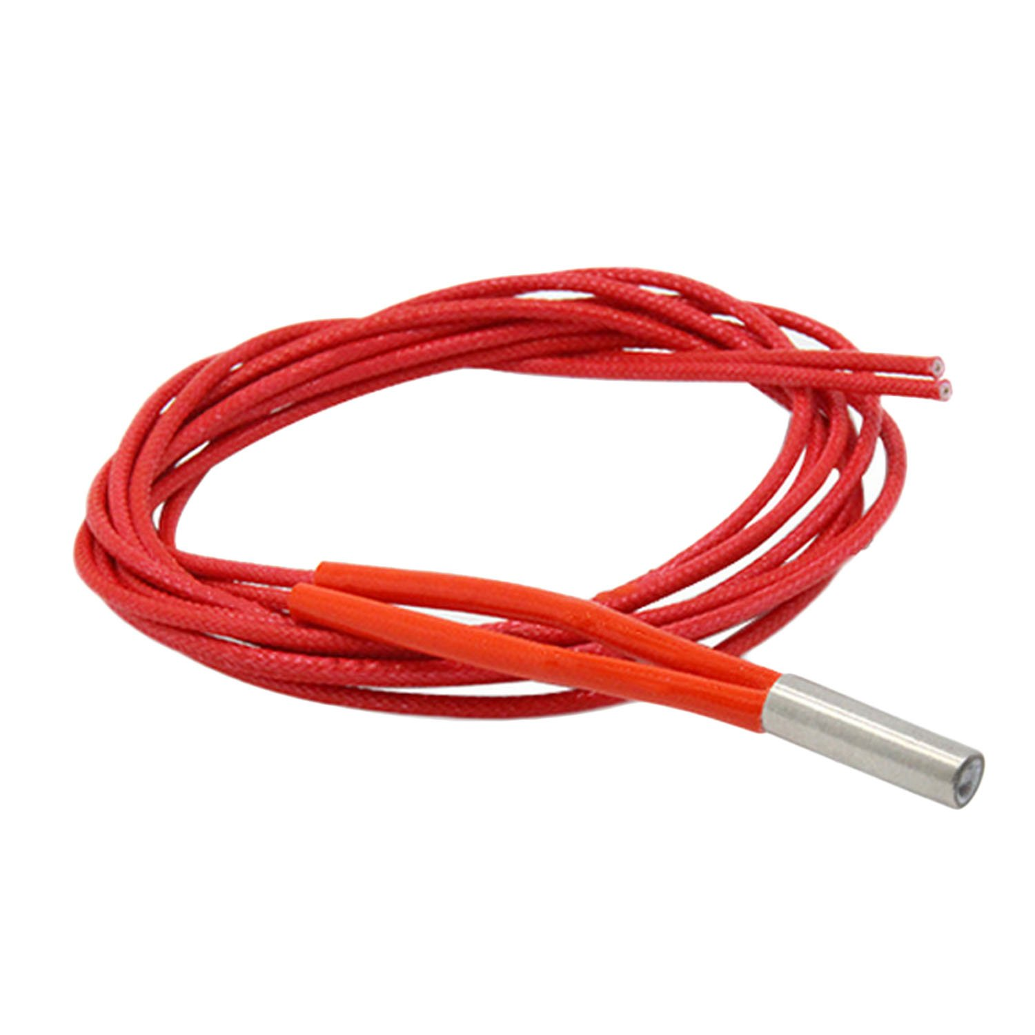 Heizpatrone SOPEAR 5 st/ücke 12 V 40 Watt Single Head Keramik Heizpatrone Draht NTC Thermistor f/ür 3D Drucker 6x20mm