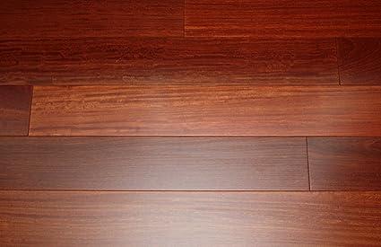 Kingsport Santos Mahogany Classic 9 16quot X 5quot Exotic Engineered Hardwood Flooring AF011