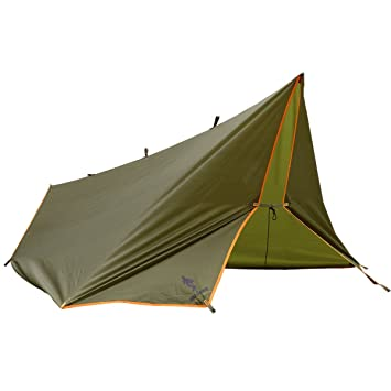 FREE SOLDIER Large Waterproof Tarp Multifunctional Outdoor C&ing Traveling Rain Fly Awning Backpacking Tarp shelter Rain  sc 1 st  Amazon.com & Amazon.com : FREE SOLDIER Large Waterproof Tarp Multifunctional ...