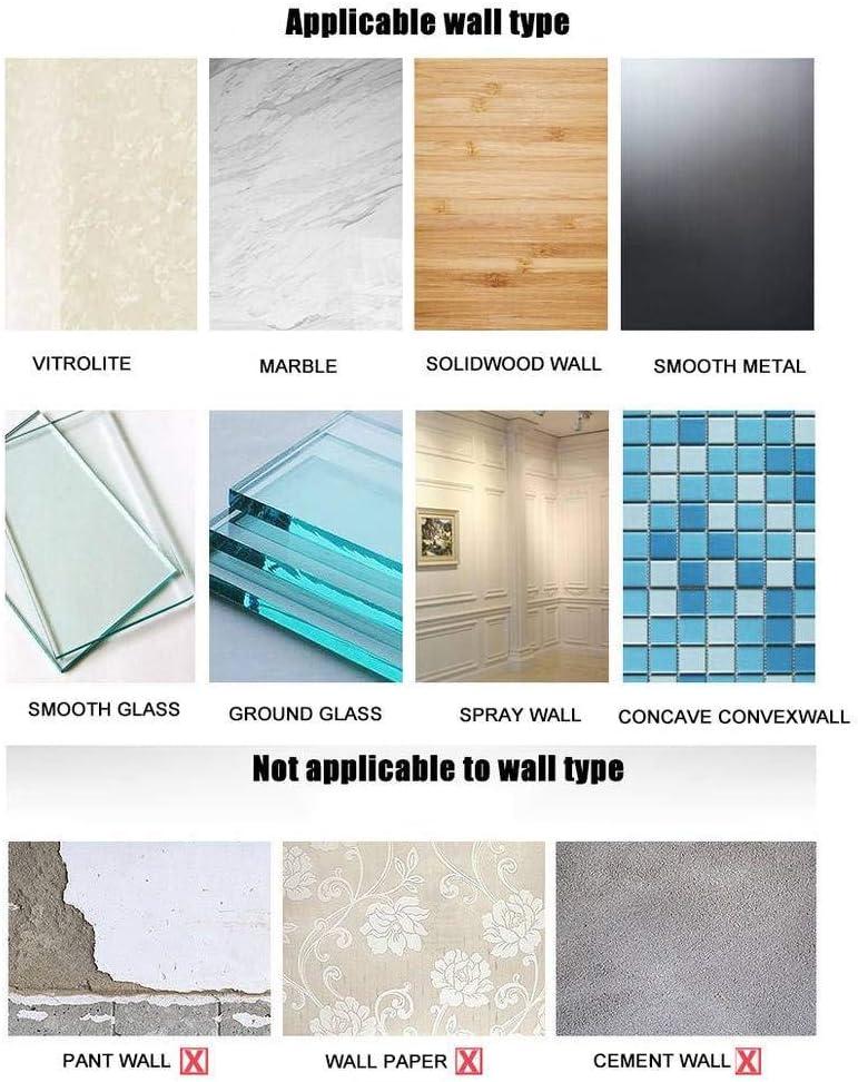 Adh/éSif pour Cuisine Salle De Bains 30CM sans Per/çAge Aluminium WISKEO Barres Porte-Serviettes Mural