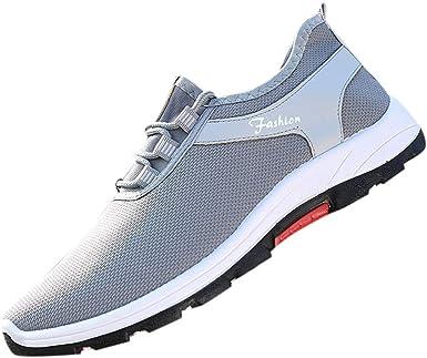 beautyjourney Zapatilla de Verano para Hombre Zapatos Casuales de ...