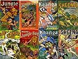 Golden Age Comics Jungle Action & Adventure Series Collection (Charlton Fawcett Comics Nyoka Jungle Girl, Fox Feature Zoot Zegra Rulah, misc..., Vol 1)