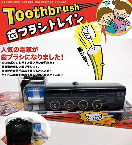 Tooth Brush 【Train】 D51 Steam Locomotive by Heart